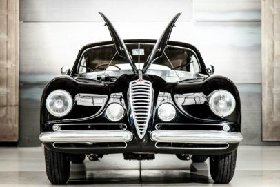Alfa Romeo 6C 2500 SS Villa d`Este - Motorhaube