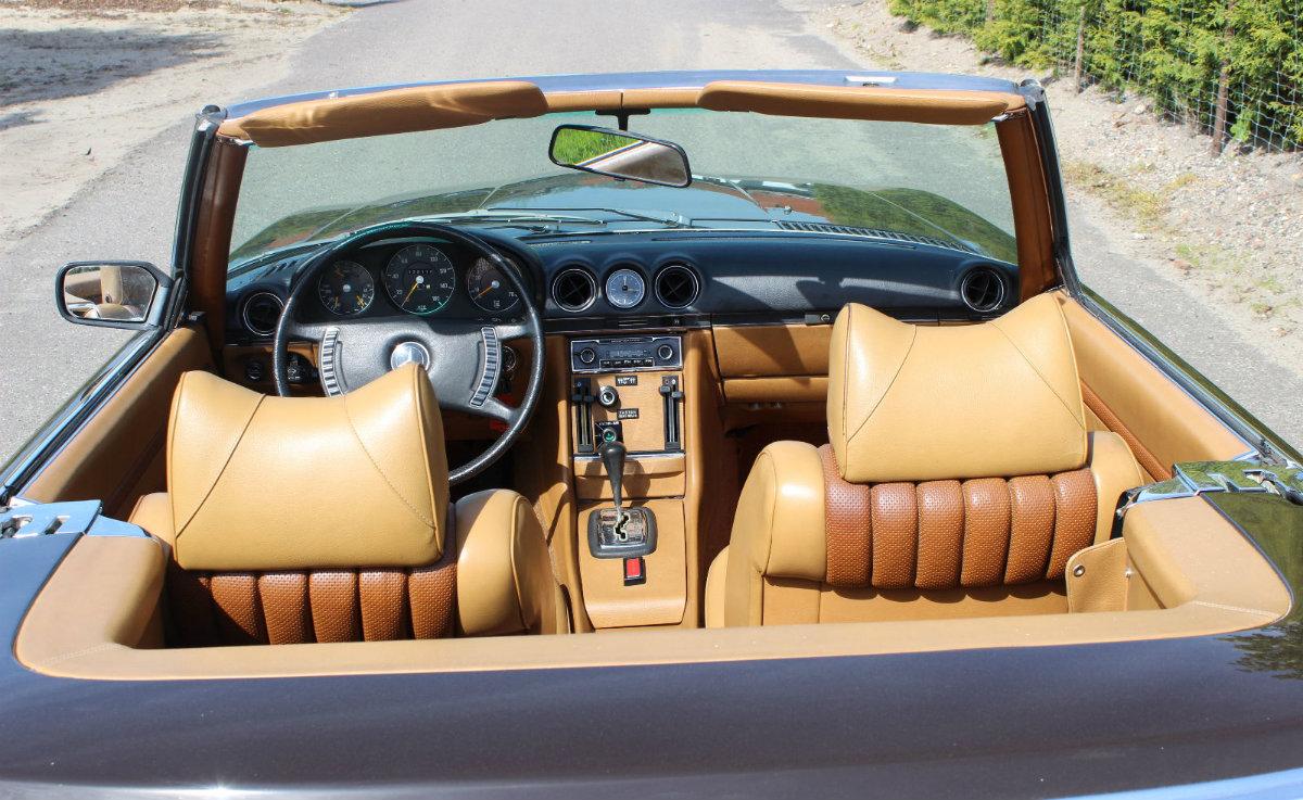 Mercedes-Benz R107 Innenraum