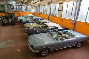 Mustangs Old Rockets Halle