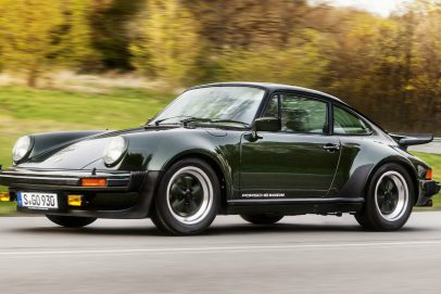 Porsche 911 930 Turbo Green
