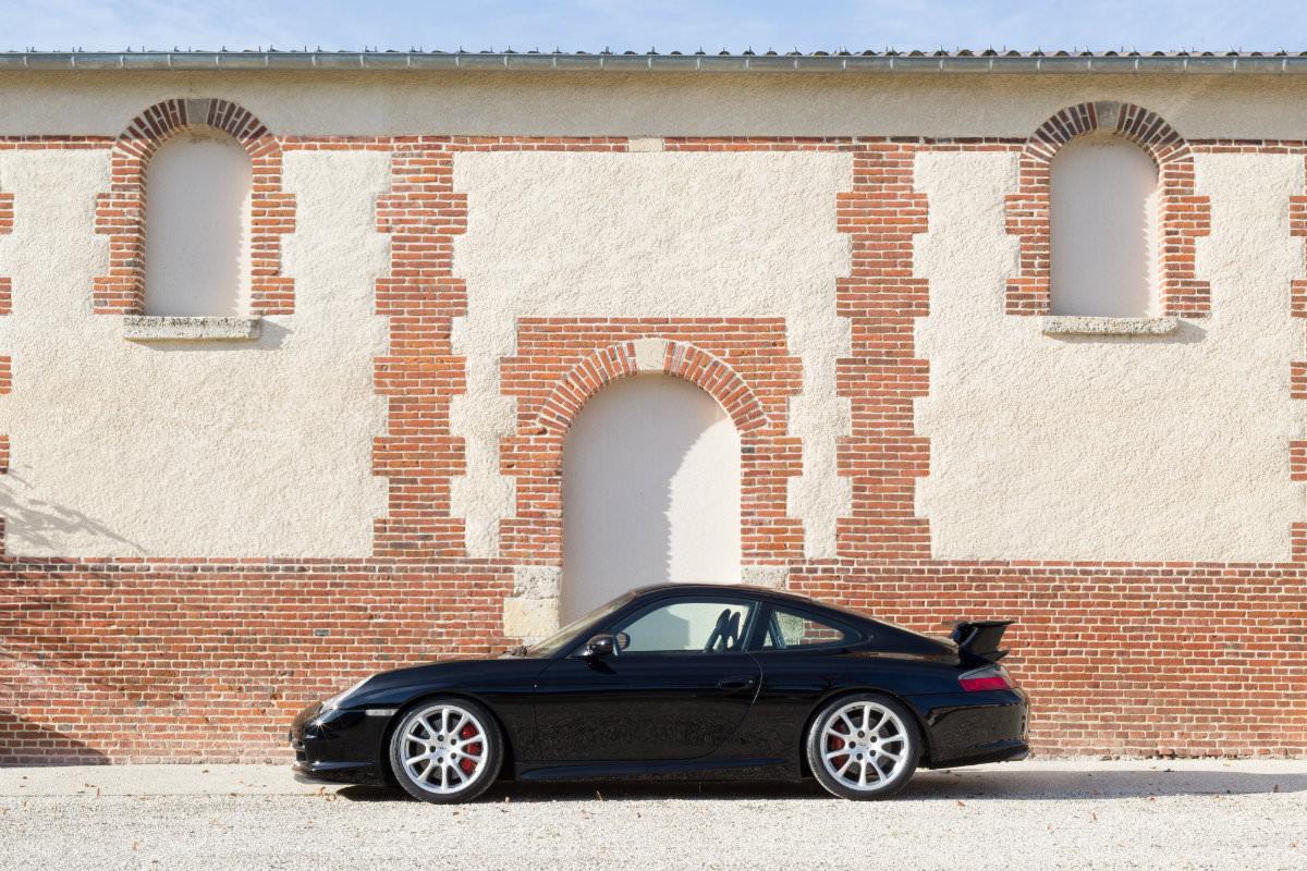 Porsche 911 996 GT3 Schwarz