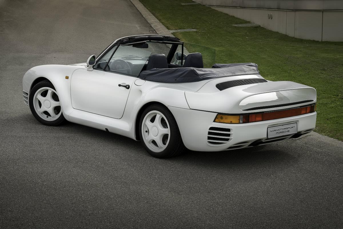 Porsche 959 Cabrio Der Seltenste Porsche Der Welt