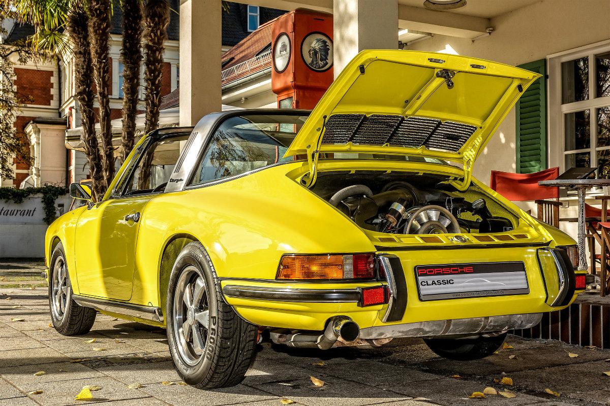 Oldtimer Fotos machen - Porsche Targa