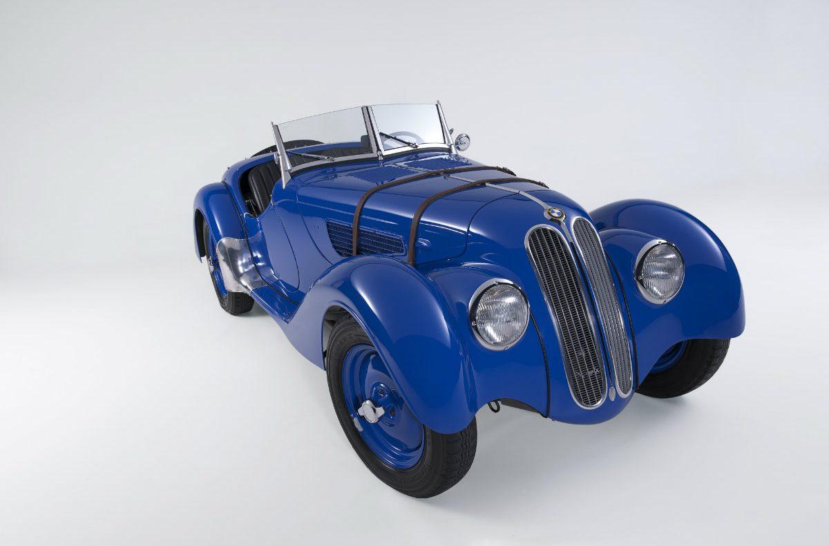 BMW 328 Blau
