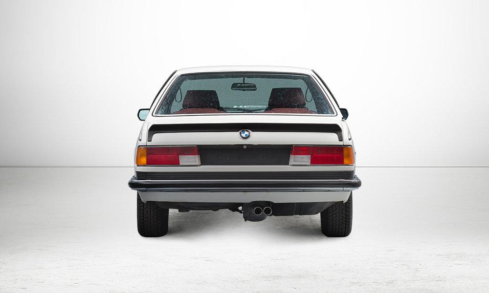 BMW 6er (E24) - Heck