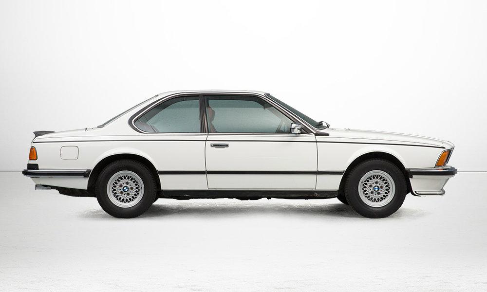 BMW 6er (E24) - Seite Rechts