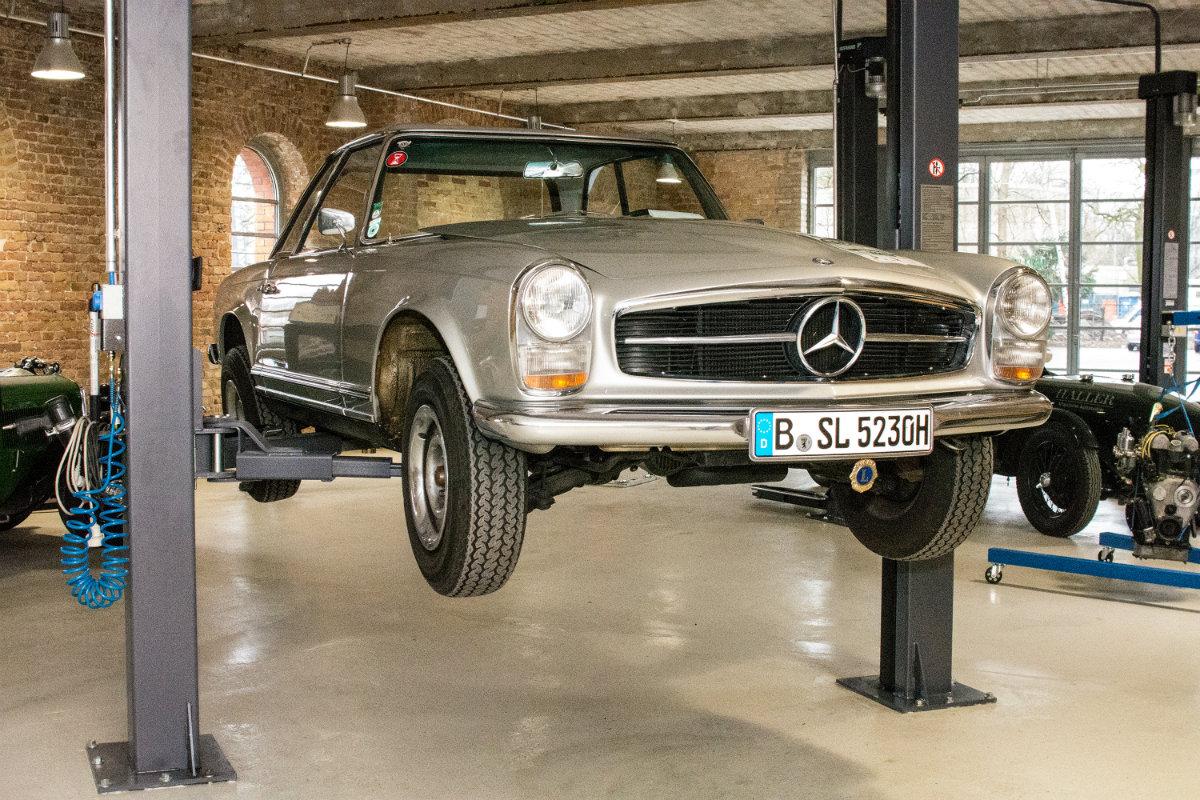 Haller Klassische Automobile - Werkstatt