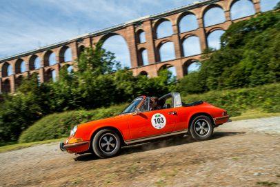 Porsche Targa Seitlich