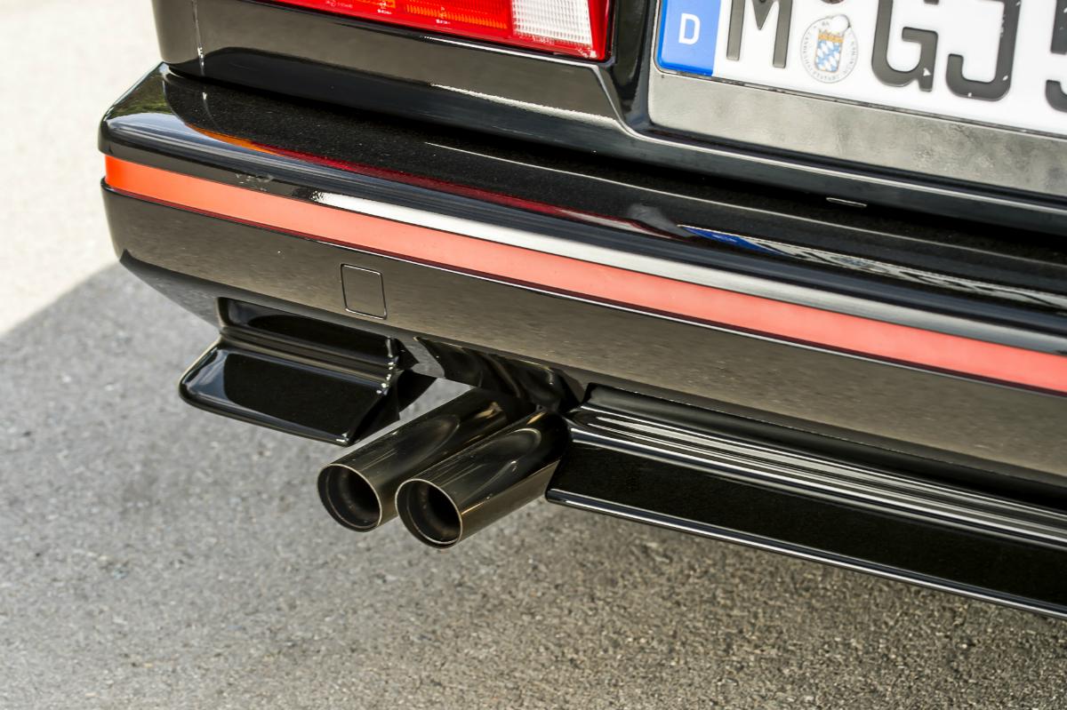 BMW E30 Kaufberatung Auspuff