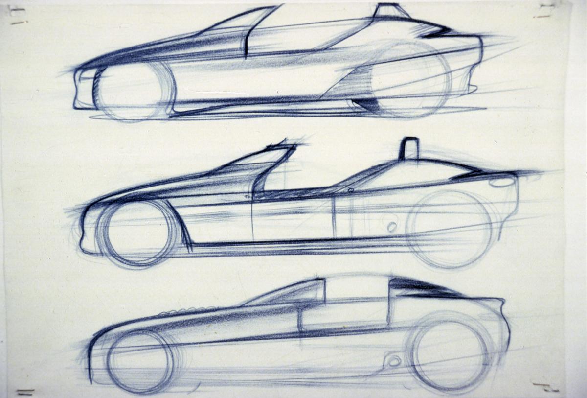 BMW Z1 Entwürfe