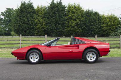 Ferrari 308 Kaufberatung - seitenansicht