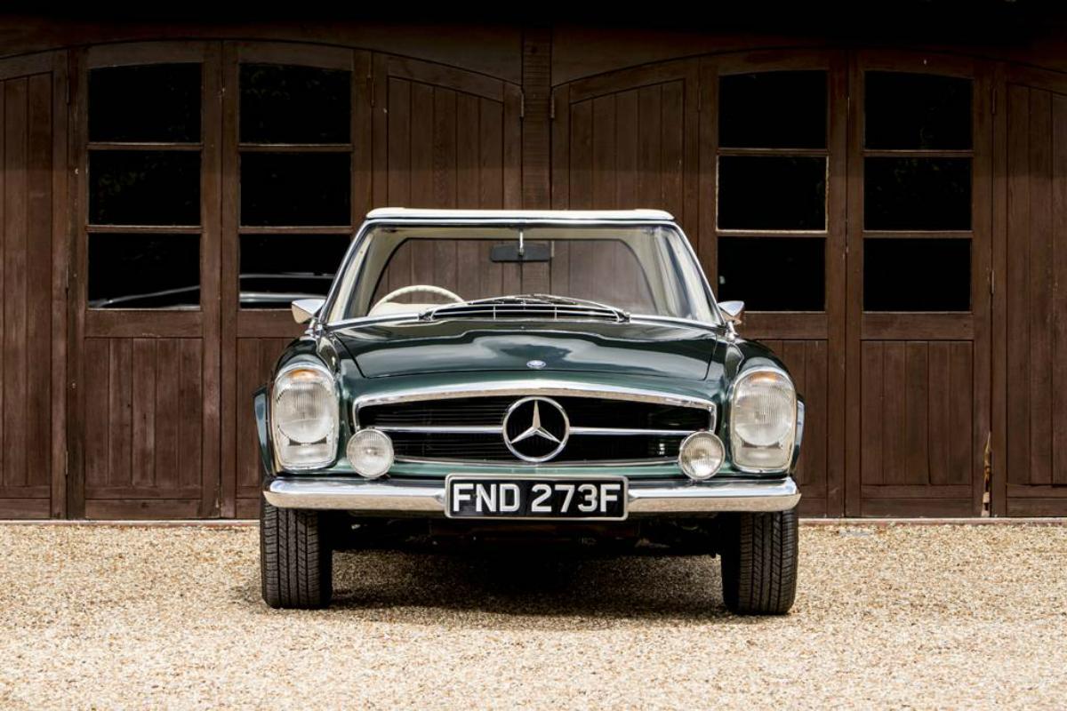 Mercedes-Benz W113 Kaufberatung Front