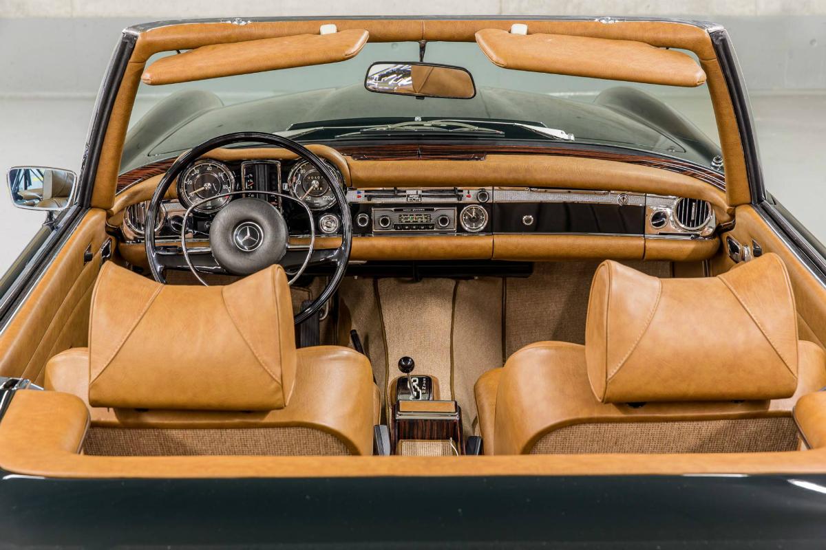 Mercedes-Benz W113 Kaufberatung Innenraum