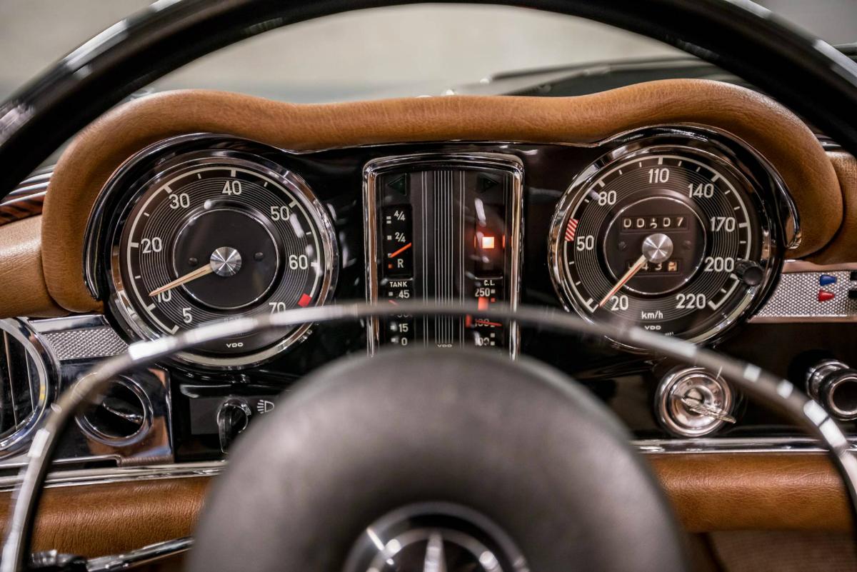 Mercedes-Benz W113 Kaufberatung Instrumente
