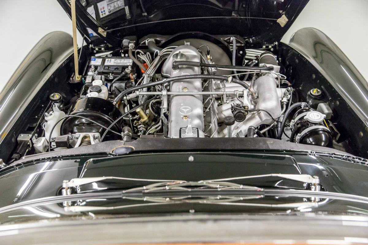 Mercedes-Benz W113 Kaufberatung Motor