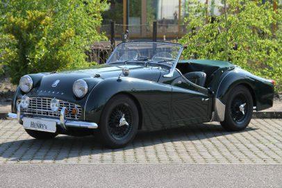 Triumph TR3 Kaufberatung Seite