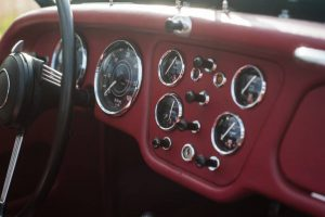 Triumph TR3 Kaufberatung armaturenbrett
