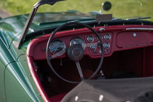 Triumph TR3 Kaufberatung cockpit