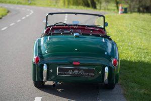 Triumph TR3 Kaufberatung heckansicht