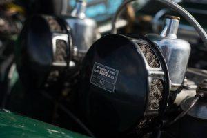 Triumph TR3 Kaufberatung motor detail