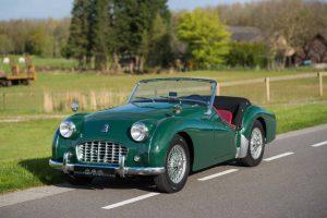 Triumph TR3 Kaufberatung profil