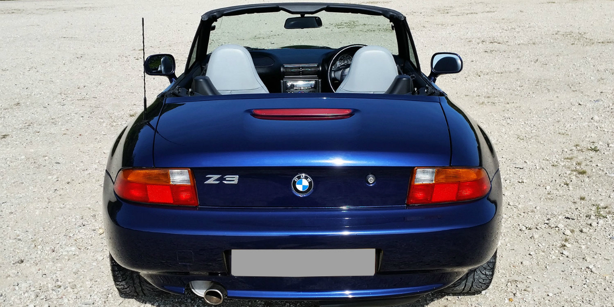 BMW Z3 Roadster Heck