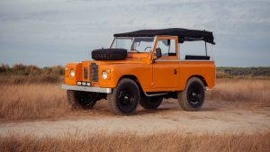 Cool and Vintage Land Rover 5