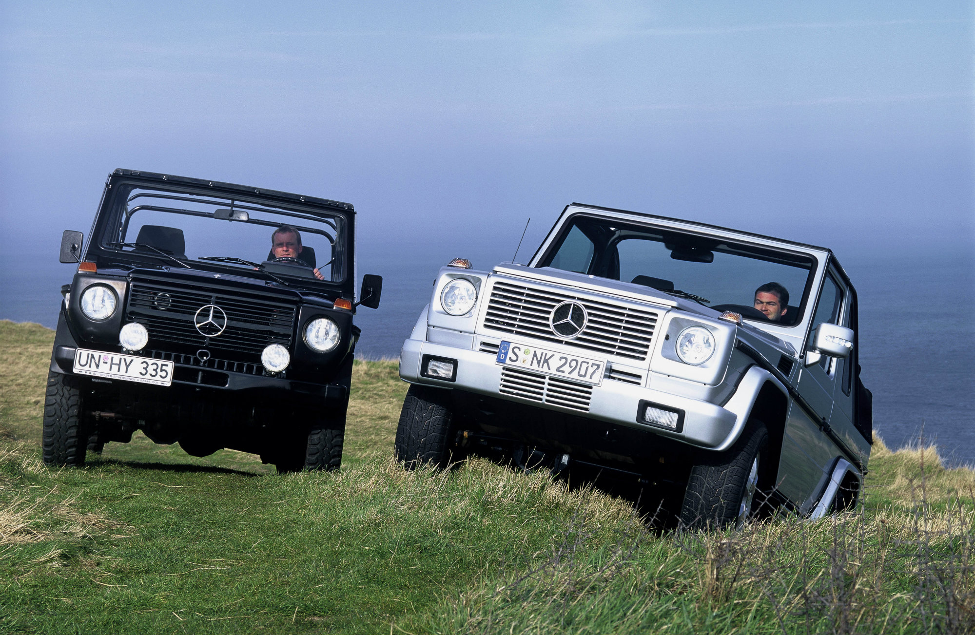 mercedes benz g klasse untersch tzter klassiker. Black Bedroom Furniture Sets. Home Design Ideas