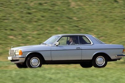 Mercedes Benz 123er Coupe Totale 1