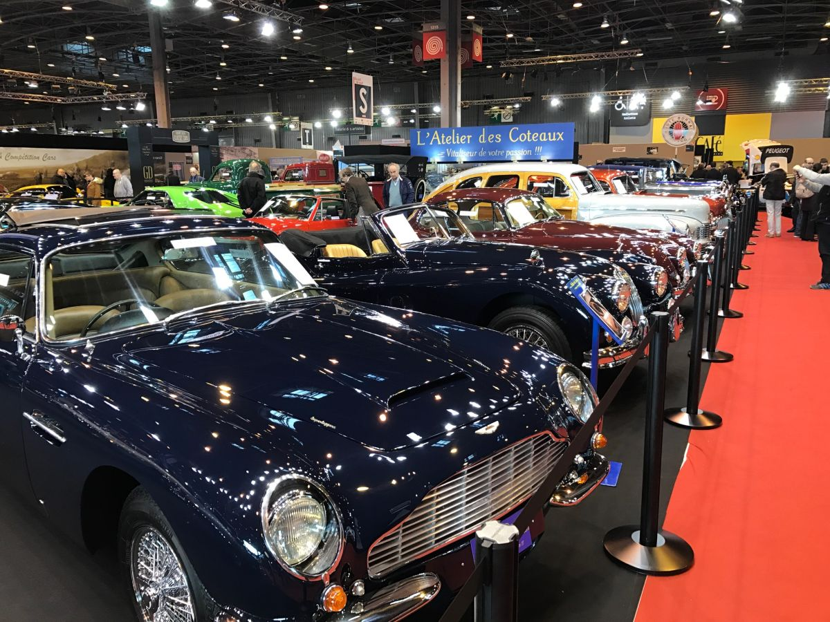 Salon de luxe r tromobile paris 2017 setzt ma st be for Salon sugar paris 2017