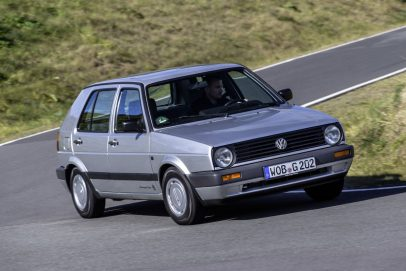 Volkswagen Golf II Silber 1