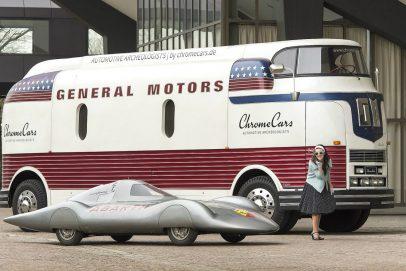 GM Futurliner Totale restauriert