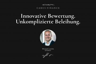 Carus Finance Portrait Header