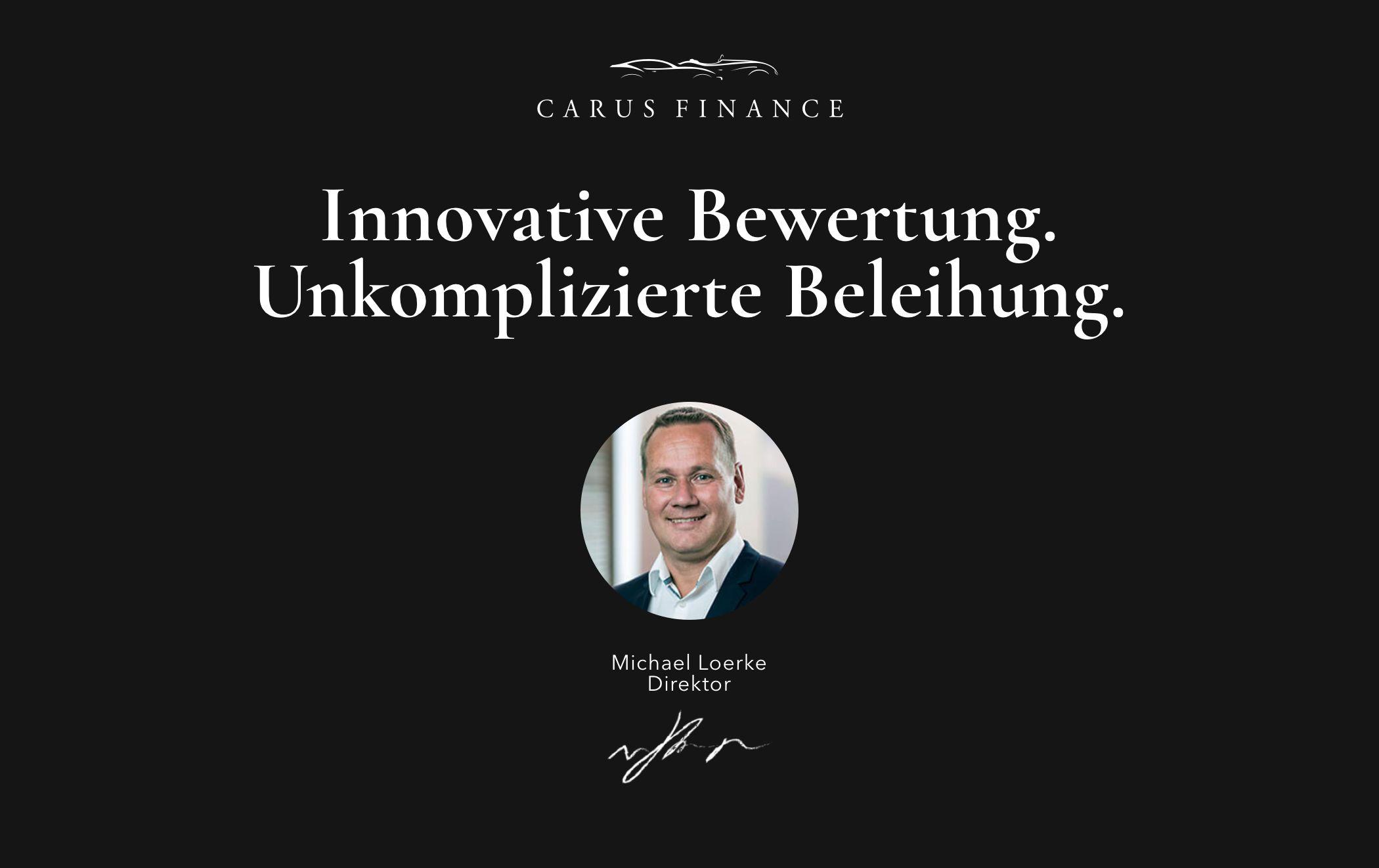 Anzeige | Carus Finance – Innovative Bewertung. Unkomplizierte Beleihung.
