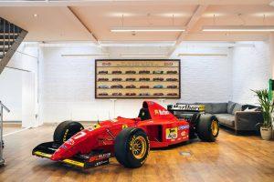 Formel 1 Ferrari 412 T2 1995 - Michael Schumacher