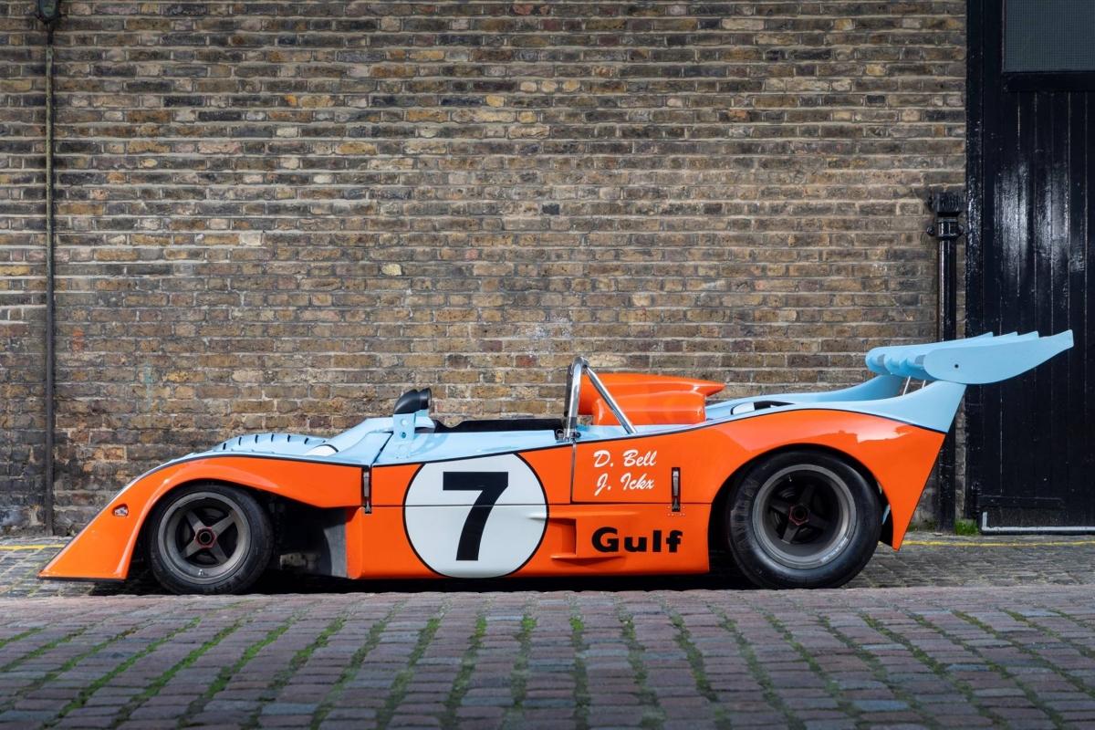 Gulf GR7 1972 - Derek Bell 3