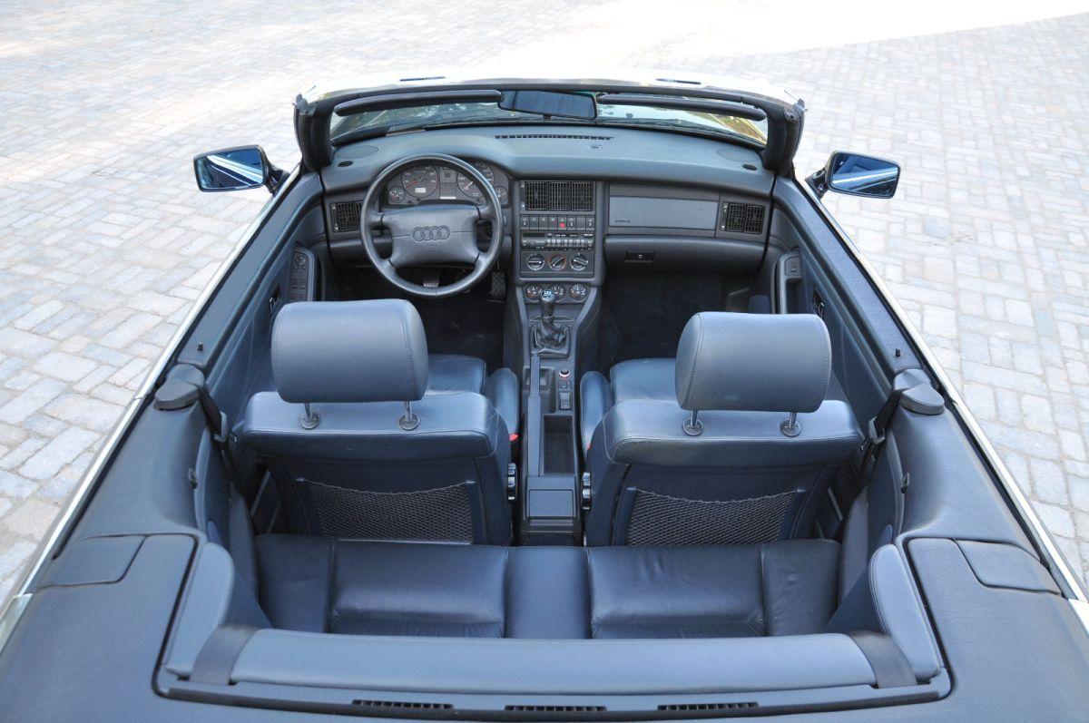 Audi Cabriolet Interior