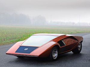 Carrozzeria Bertone Lancia Stratos Zero 1