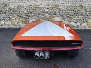 Carrozzeria Bertone Lancia Stratos Zero 6