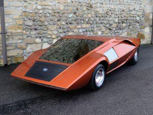 Carrozzeria Bertone Lancia Stratos Zero 9