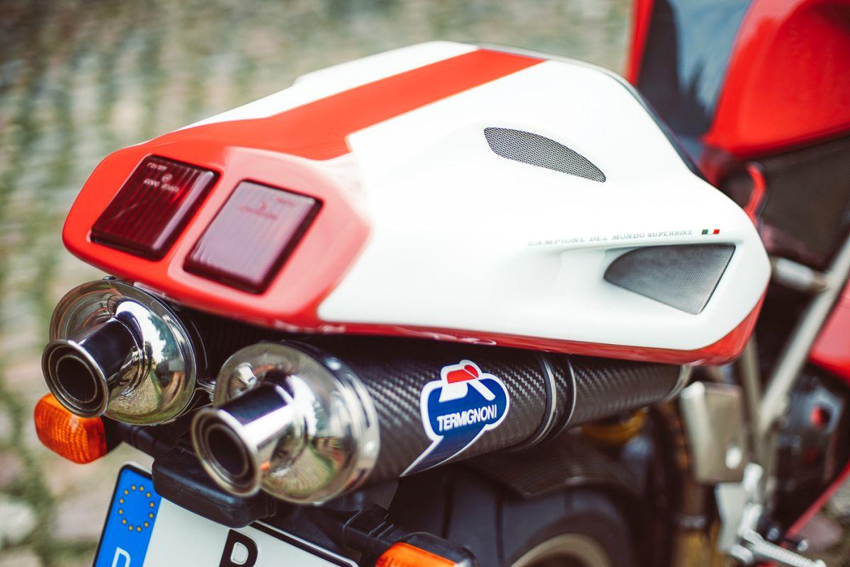 Ducati 916 Auspuff 1