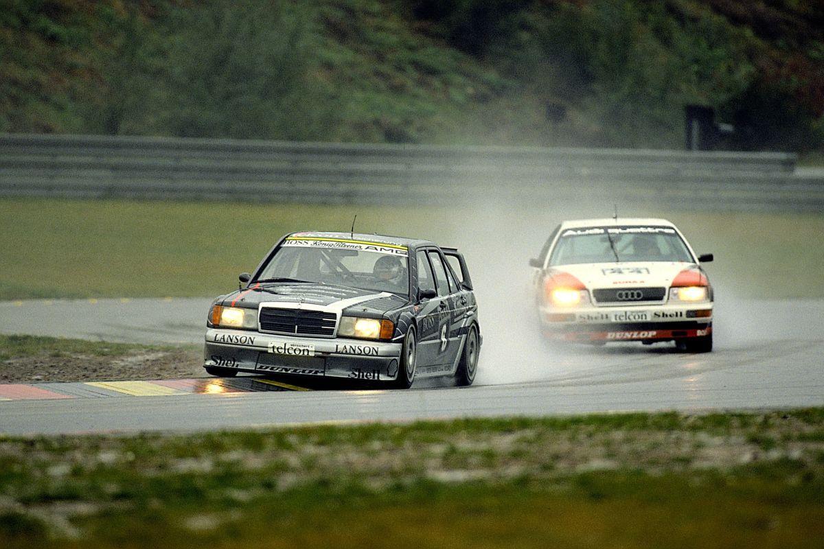 Mercedes und Audi DTM