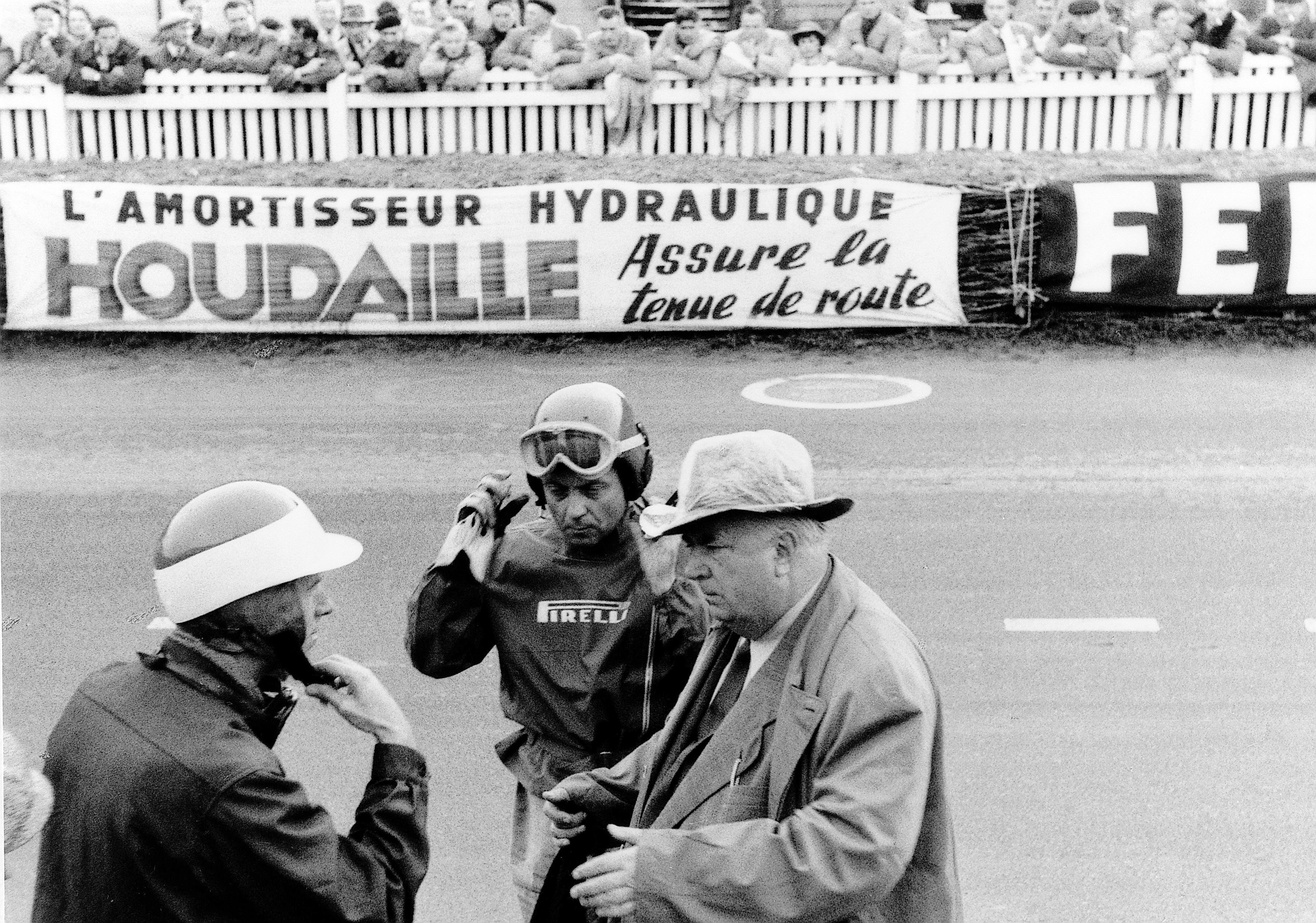 Le Mans 1955 - Alfred Neubauer