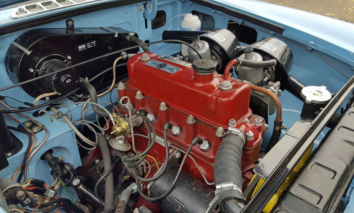 MGB kaufen Motor 1