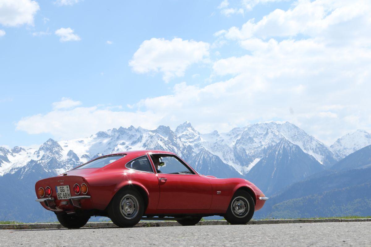 Opel GT Alpen 1