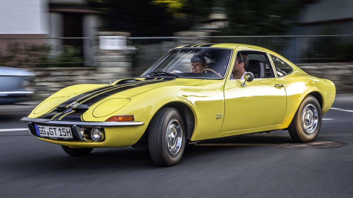 Opel GT Front 1