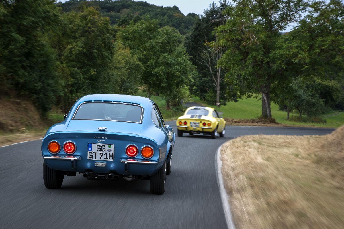Opel GT Heck 1