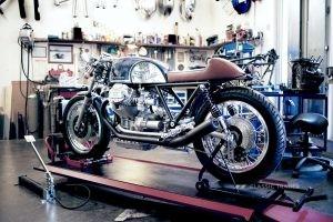 Kaffeemaschine Custom Motorcycles 1