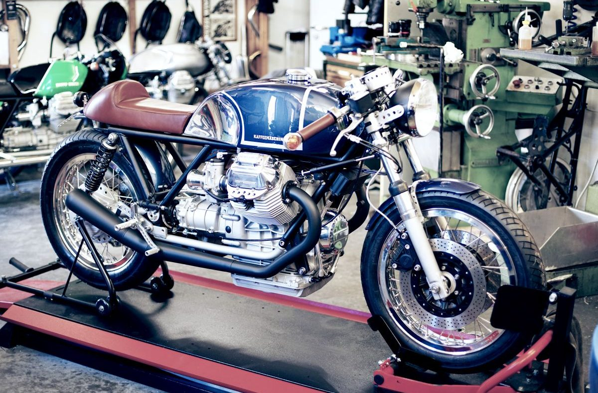 Kaffeemaschine Custom Motorcycles 2