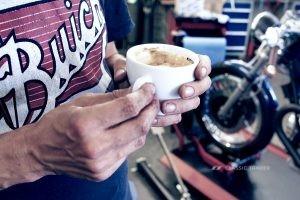 Kaffeemaschine Custom Motorcycles 9